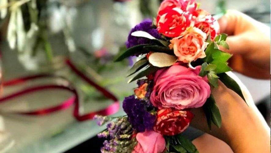 Taller virtual gratuito para crear arreglos florales personalizados | Mayo 2020