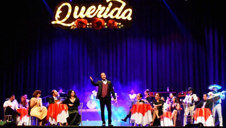Transmisión en línea de la obra de teatro guatemalteca Querida   Mayo 2020