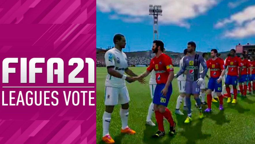 Vota para que la Liga Nacional Mayor de Guatemala aparezca en el videojuego FIFA 21