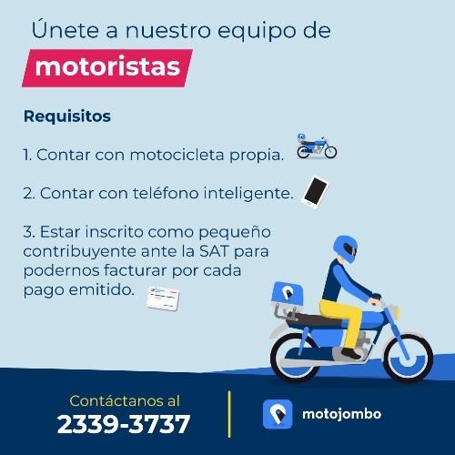 covid-19-motojombo-ofrece-trabajo-motoristas-guatemaltecos-requisitos-postular