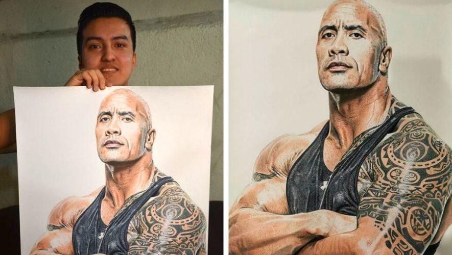 Alejandro Requena, artista guatemalteco, sorprende con sus dibujos de retrato