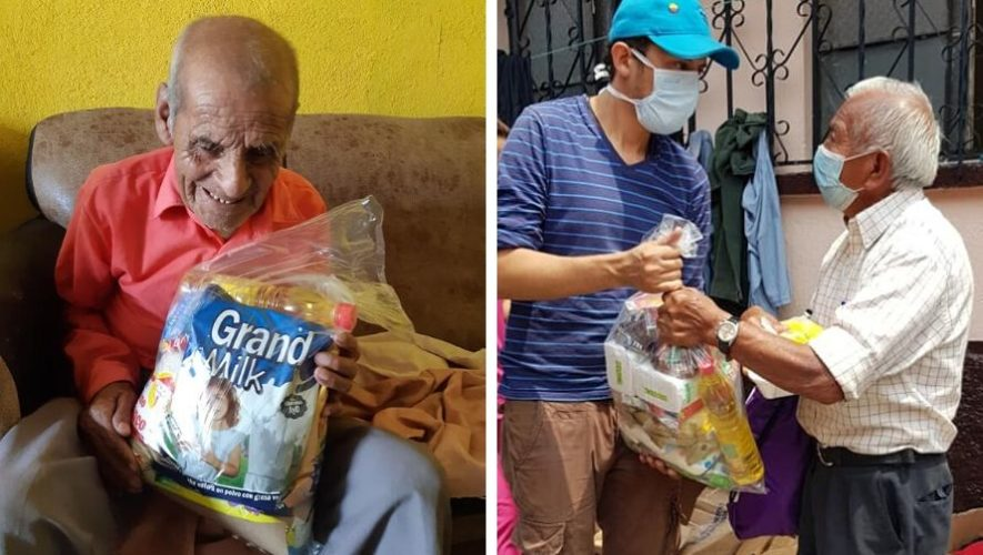 Apadrina a un abuelito, movimiento dona a personas de la tercera edad