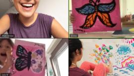 Arriola Art Academy ofrece clases de arte en línea para niños debido a COVID-19