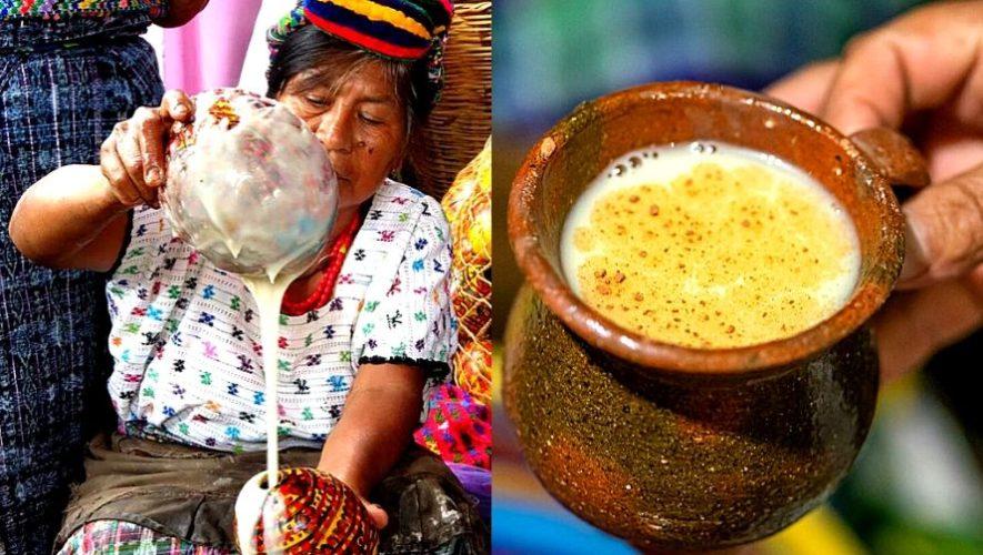 El atolillo que se prepara de manera artesanal en Guatemala