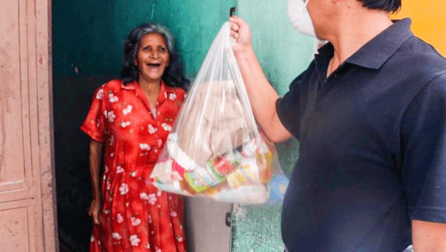 COVID-19_ Apoya desde tu hogar, iniciativa que busca donar víveres a adultos mayores