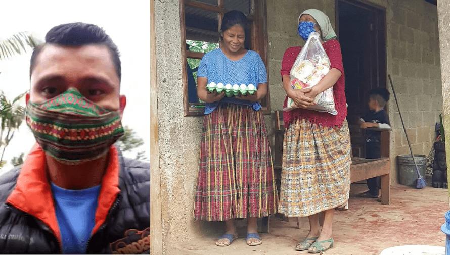 COVID-19: Erick Barrondo entregó víveres a familias de escasos recursos en Alta Verapaz