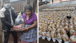 COVID-19_ Paquetes de Ayuda Solidaria busca llevar alimentos a familias de escasos recursos