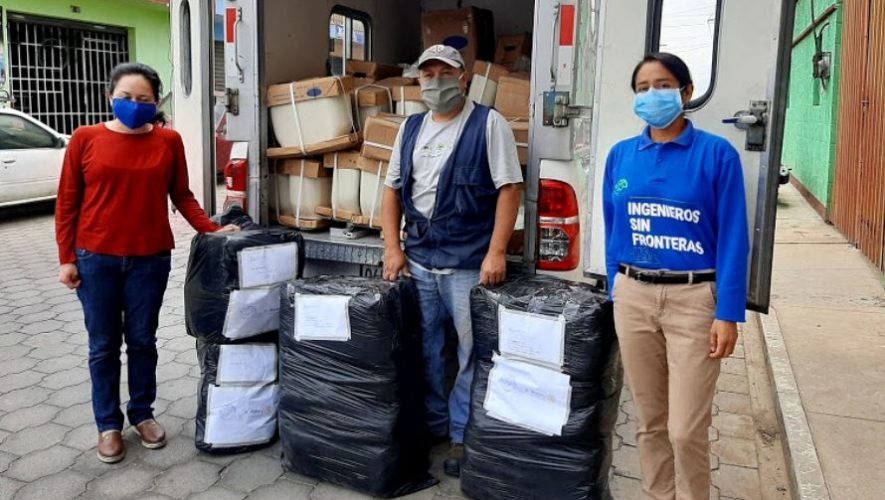 COVID-19 Rotary Guatemala e Ingenieros Sin Fronteras donaron equipo médico en Guatemala