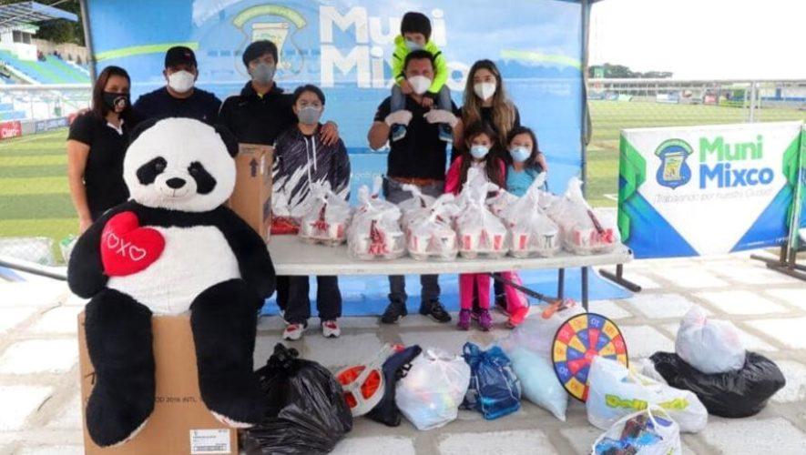 Circle of Mini Friends donó alimentos y juguetes al Albergue Municipal de Mixco