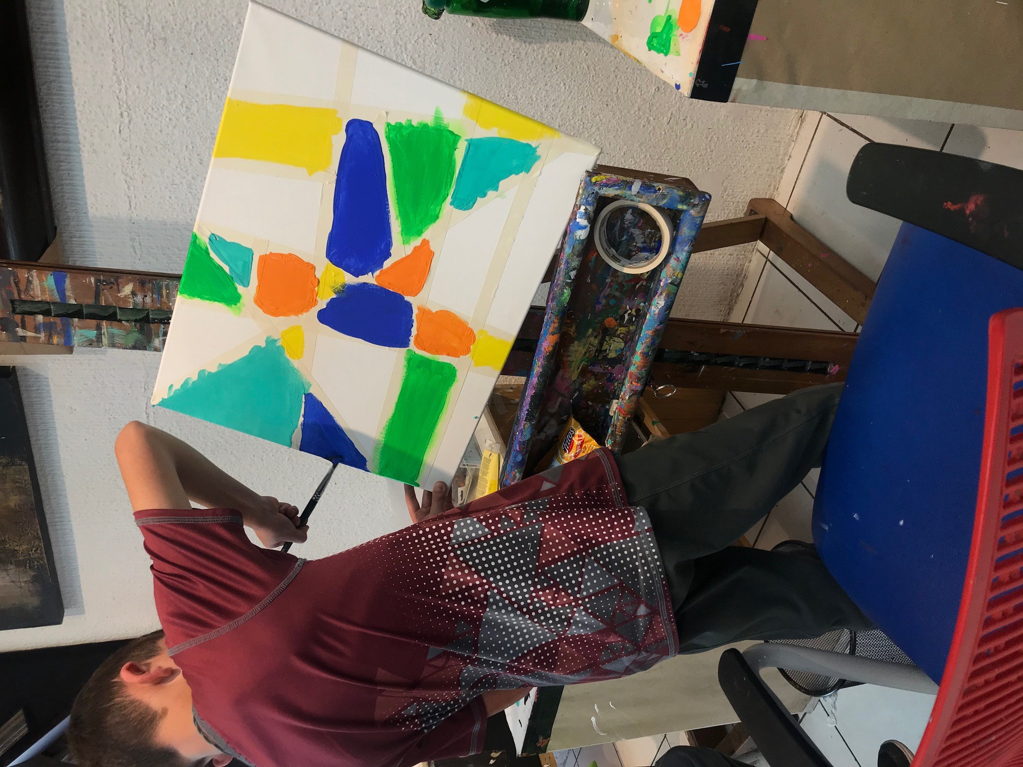 Clases de pintura línea Guatemala
