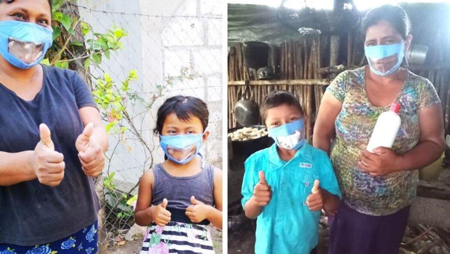 Club Rotario donó mascarillas especiales a la Unidad de Discapacidad de San Andrés, Petén (2)