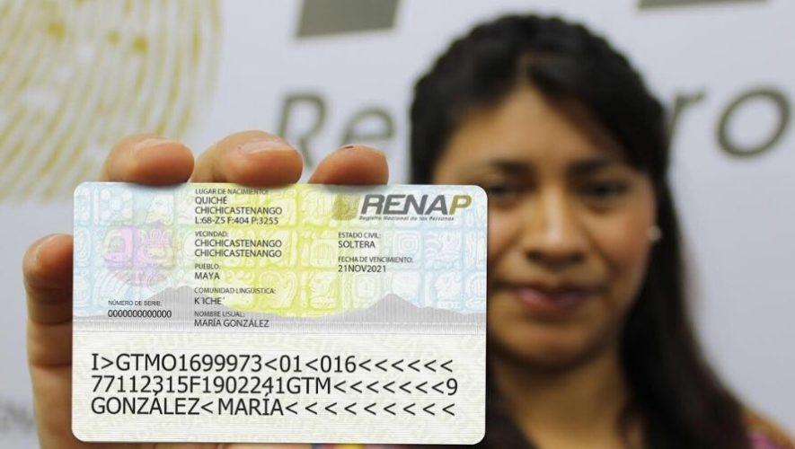DPI tendrá vigencia el resto del 2020, según Renap