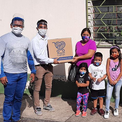 Despensa para Compartir, movimiento donará cajas de comida a hogares guatemaltecos 2020
