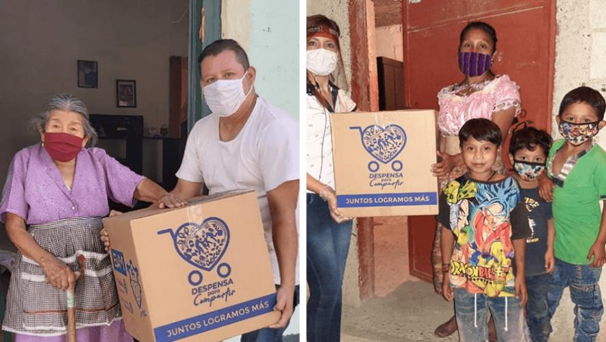 Despensa para Compartir, movimiento donará cajas de comida a hogares guatemaltecos