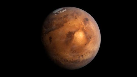Fotografías del cráter en Marte nombrado en honor a un lugar de Quetzaltenango
