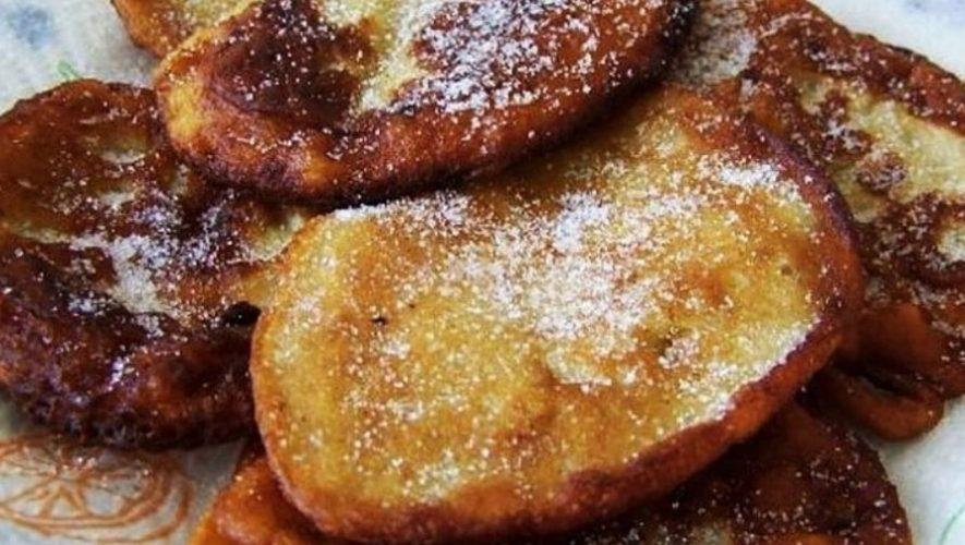 Las fritas de banano de Izabal que forman parte de la gastronomía de Guatemala