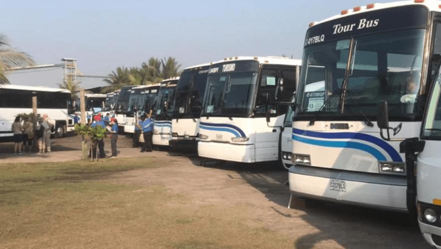Guía de Inguat para empresas de transporte turístico en Guatemala ante el Coronavirus