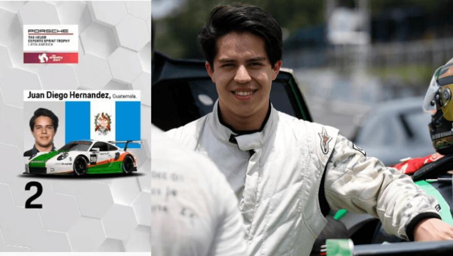 Juan Diego Hernández ganó segundo lugar en el Porsche TAG Heuer Esports Sprint Trophy Latin America