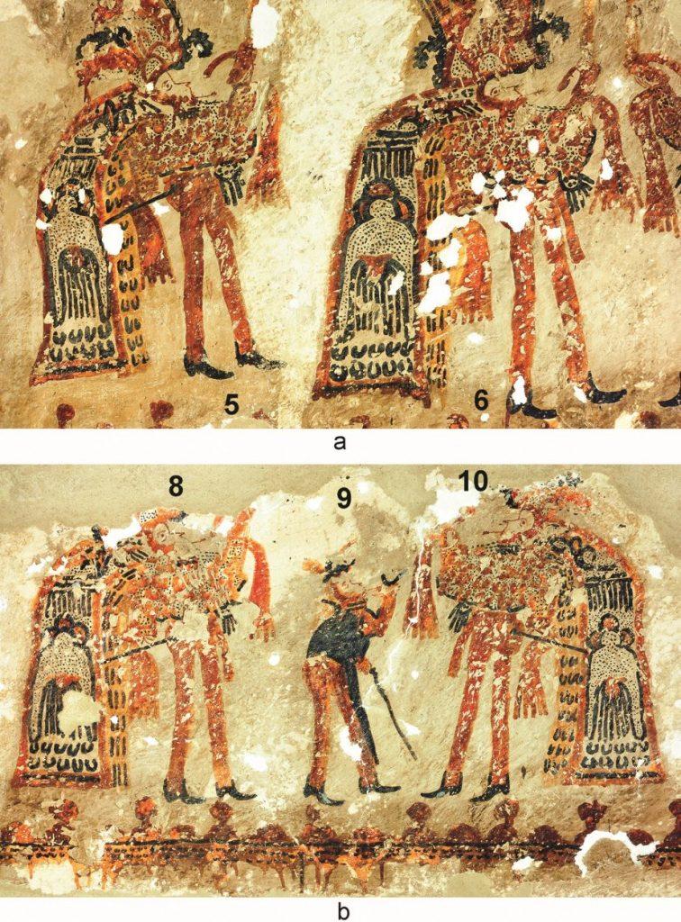 Los datos del mural Danza de la Conquista encontrado en una casa