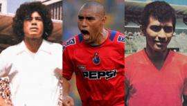 Los máximos goleadores de la Liga Nacional Mayor de Fútbol de Guatemala