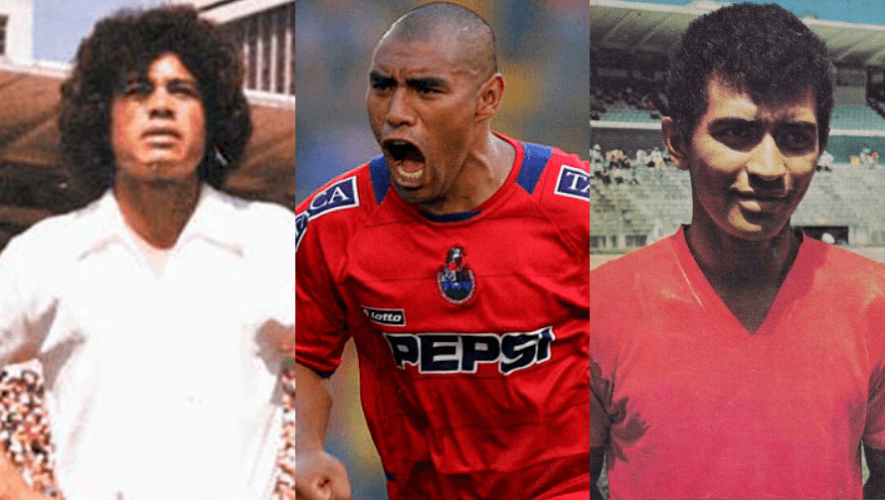 Los máximos goleadores de la Liga Nacional Mayor de Guatemala de Fútbol