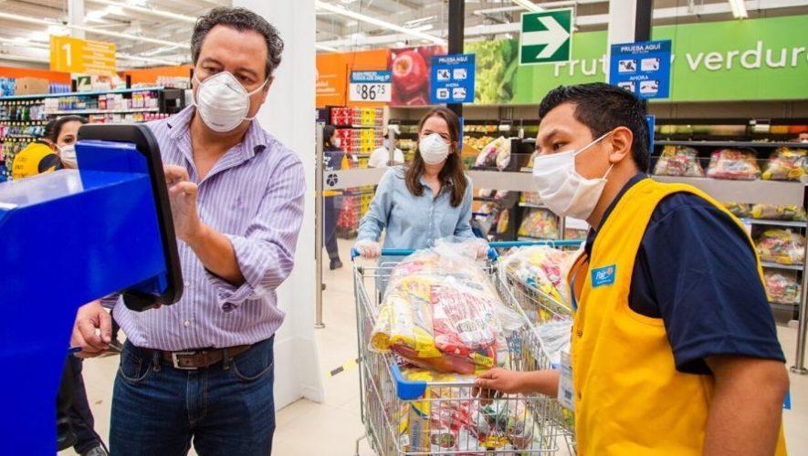 Manos Amigas, centro de acopio de Walmart para ayudar a los guatemaltecos durante el COVID-19