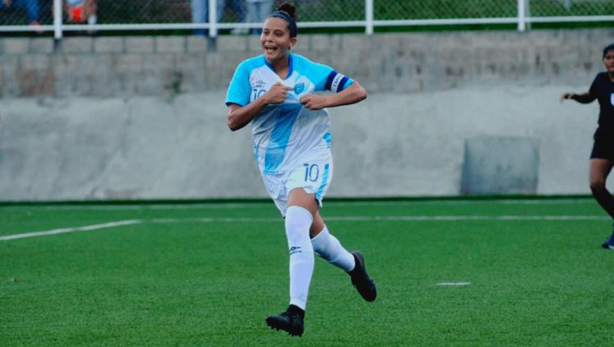 María Monterroso, una de las mejores jugadoras de la historia del Campeonato Sub-20 Concacaf