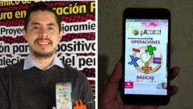 Mate Exprésate, aplicación de matemáticas creada por el guatemaltecoLudwing Vásquez