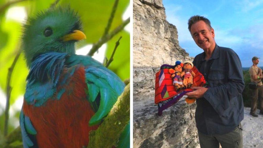 Nigel Marven compartió un adelanto del programa que grabó en Guatemala para NatGeo