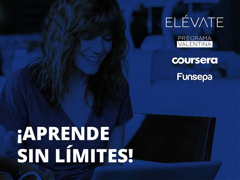 Programa Valentina ofrece licencias gratuitas de Coursera con más de 3,800 cursos en línea
