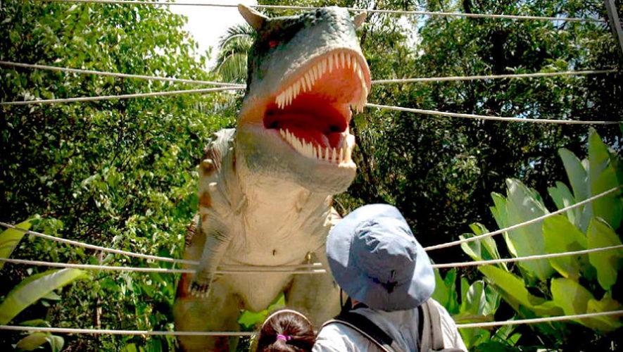 Recorrido en vivo por el parque de dinosaurios en Guatemala | Junio 2020
