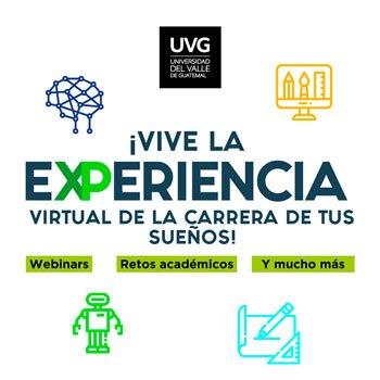 Recorridos virtuales en la Universidad del Valle de Guatemala Junio 2020
