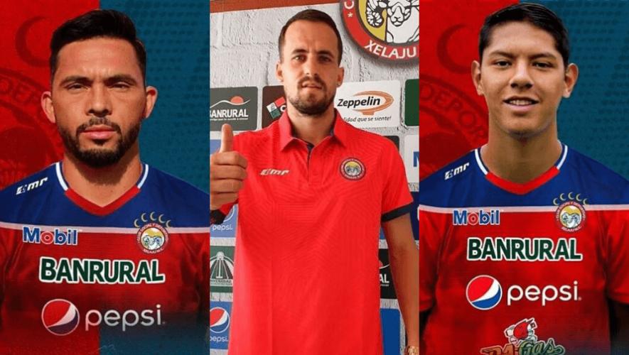 Refuerzos de Xelajú MC para el Torneo Apertura 2020 de la Liga Nacional