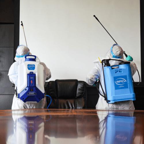 Servicios de limpieza profunda durante COVID-19