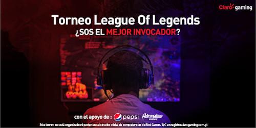 Torneo League Of Legends de Claro Gaming en Guatemala