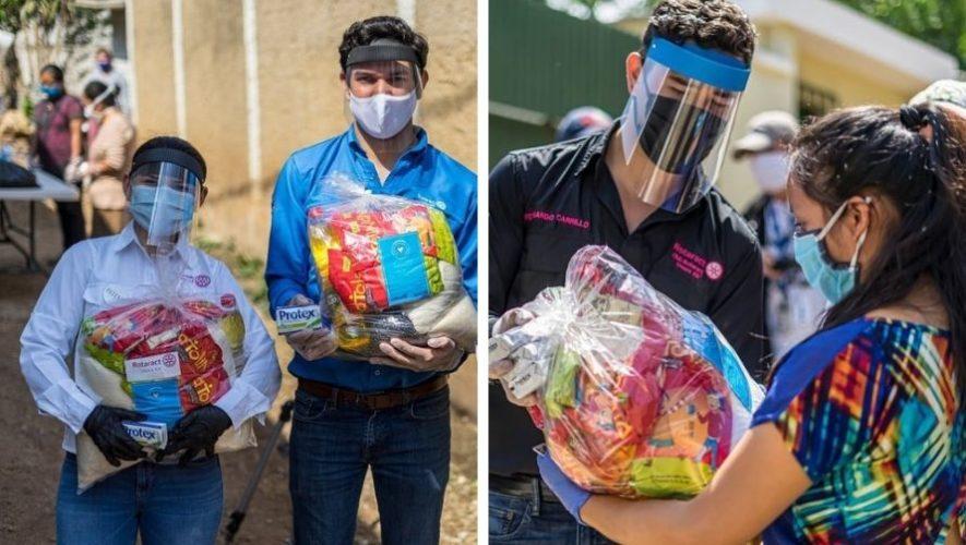 covid-19-clubes-rotarios-guatemala-entregan-viveres-comunidades-guatemaltecas