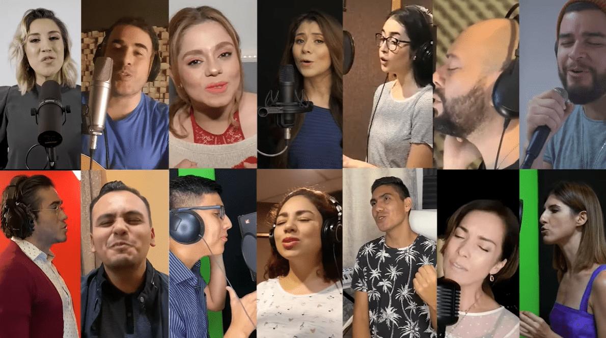 Artistas que forman parte de Ayúdanos a salvar vidas