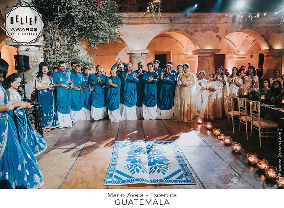 Boda en Antigua Guatemala destacó a nivel internacional