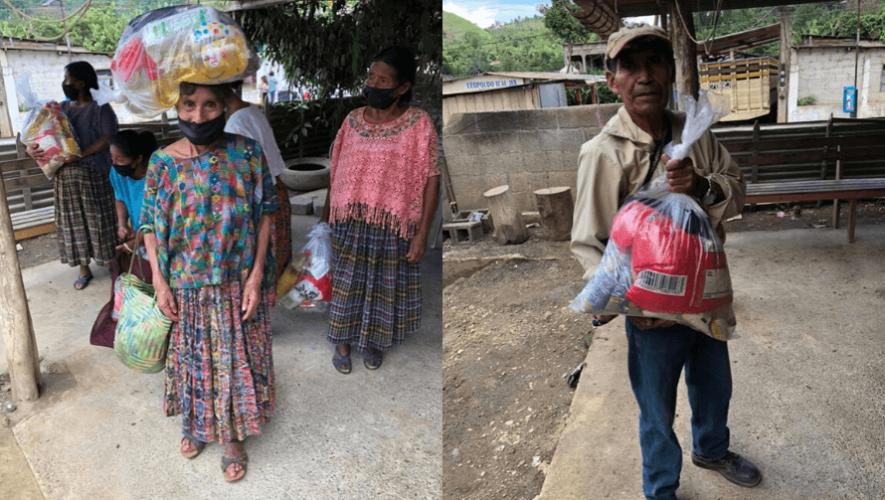 COVID-19 Erick Barrondo continúa apoyando a las familias afectadas de Alta Verapaz