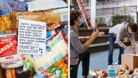 Cajas de Esperanza, estudiantes se unen para donar alimentos a personas de escasos recursos