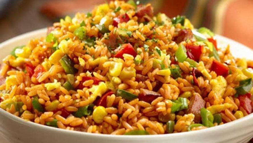 Clase gratuita para aprender a preparar arroz oriental | Julio 2020