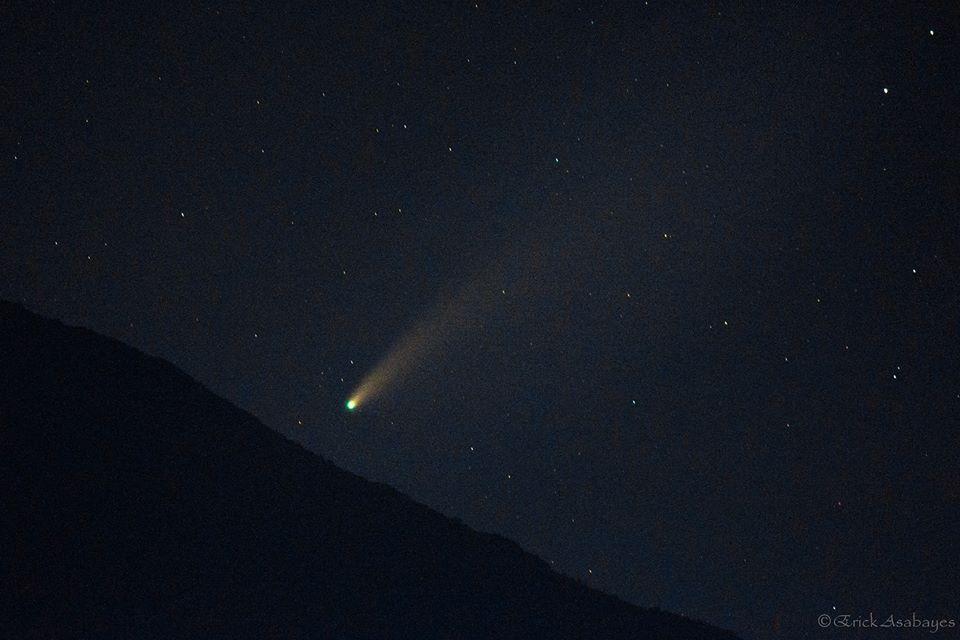 Cometa Neowise desde Jutiapa, Guatemala