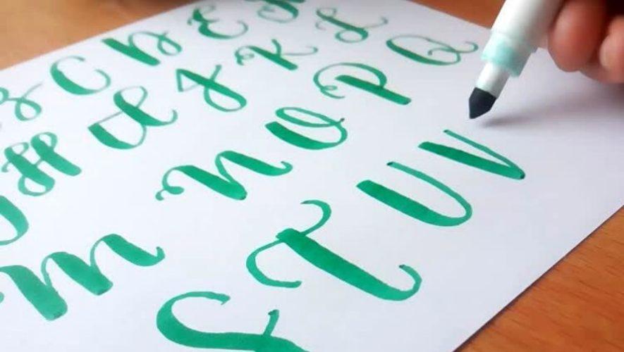 Curso gratuito de lettering en línea | Julio 2020