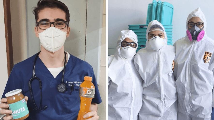 Echémonos la Manita_ iniciativa que apoya al personal médico con víveres durante COVID-19