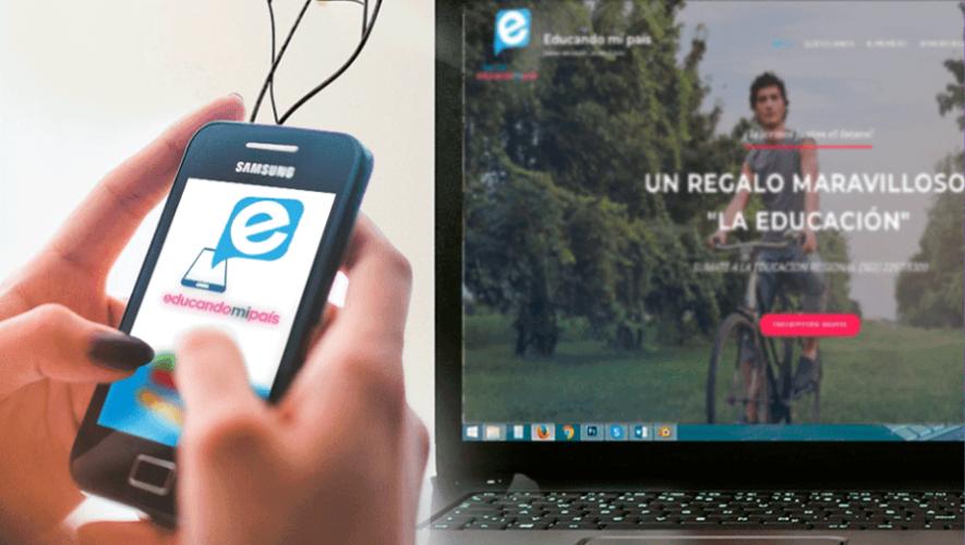 Educando Mi País, la plataforma que brinda educación gratuita a los guatemaltecos