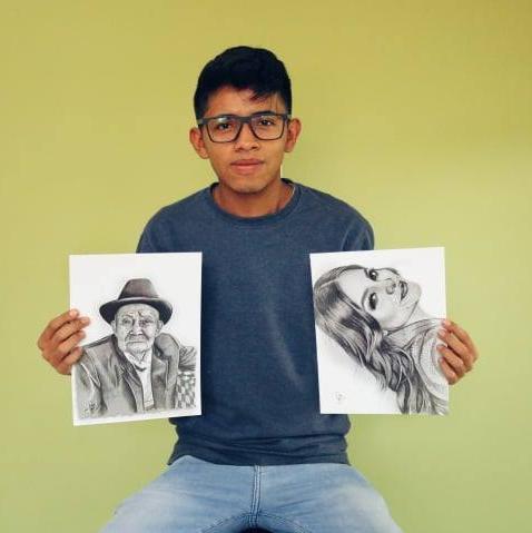 El talento del artista Arley Carrillo