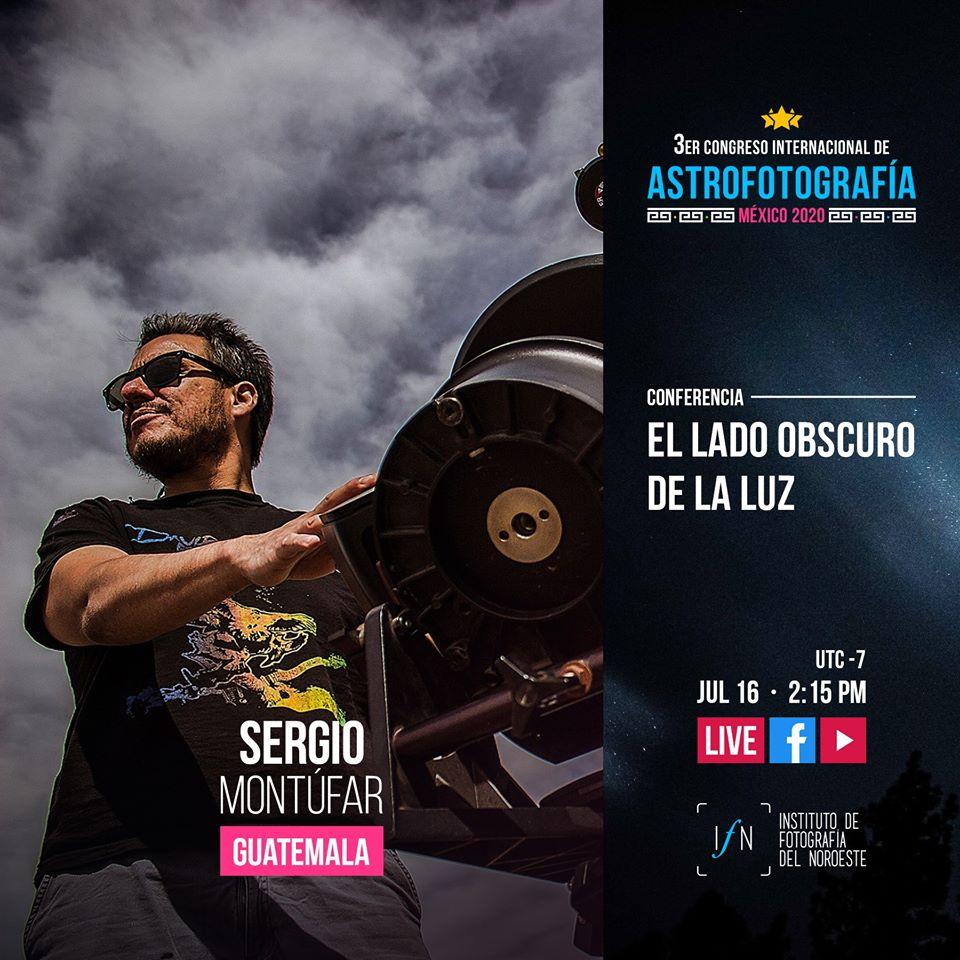 El único conferencista guatemalteco en Congreso Internacional de Astrofotografía