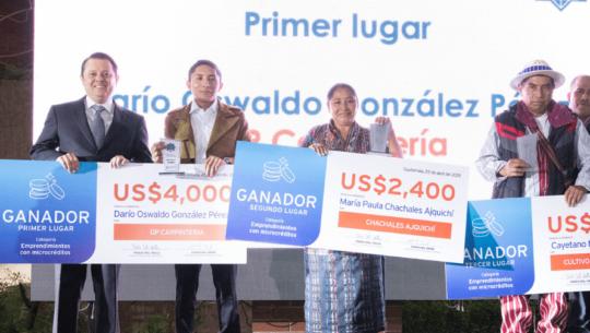 Emprendedores guatemaltecos podrán participar en el Premio Citi a la Microempresa