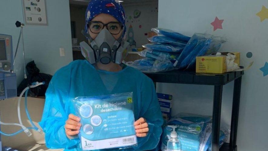 Guate Unida por los médicos y personal de hospitales, iniciativa guatemalteca para ayudar (1)
