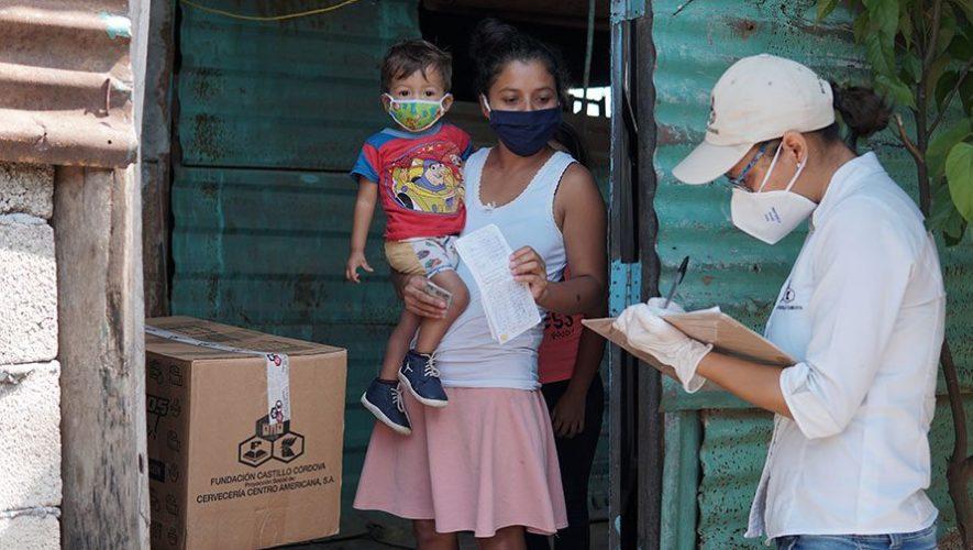 Guatemaltecos ¡al rescate!, programa social que beneficiará a familias con apoyo alimentario